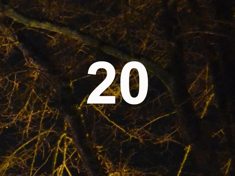 Adventskalender Feld 20