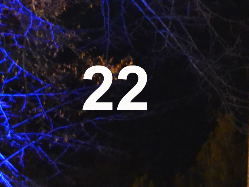 Adventskalender Feld 22