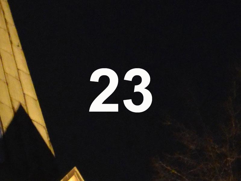 Adventskalender Feld 23