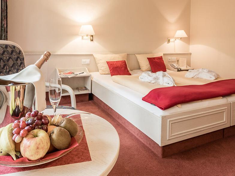 Doppelzimmer in einem Hotel in Bad Bevensen