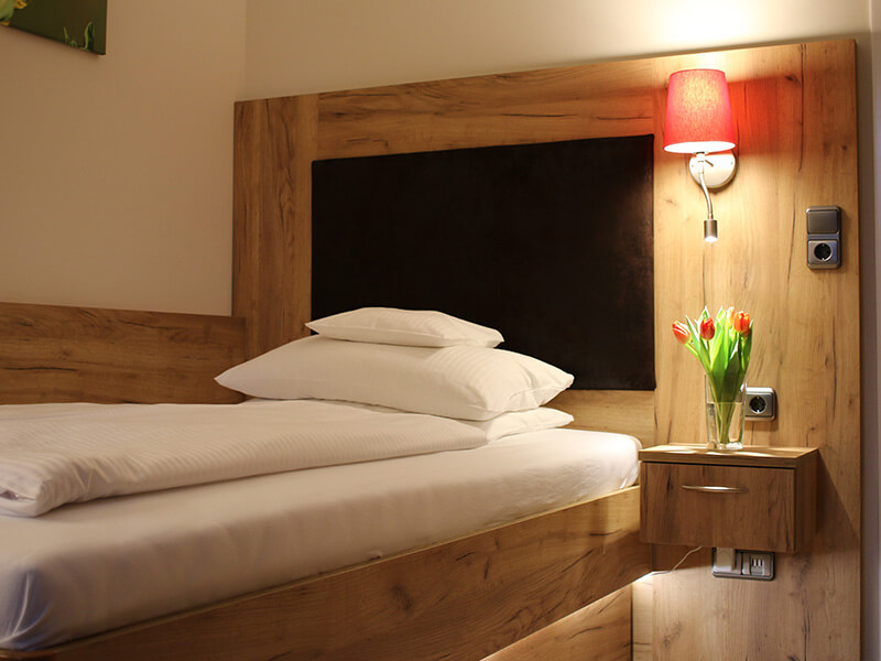 Komfort Einzelzimmer in einem Bad Bevenser Hotel