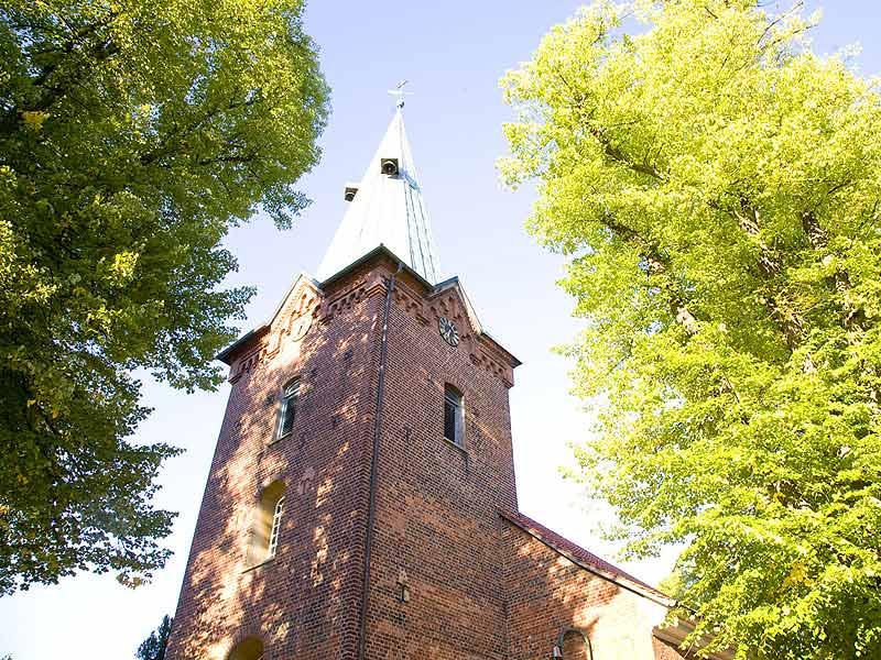 Die Dreikönigskirche in Bad Bevensen in der Lüneburger Heide