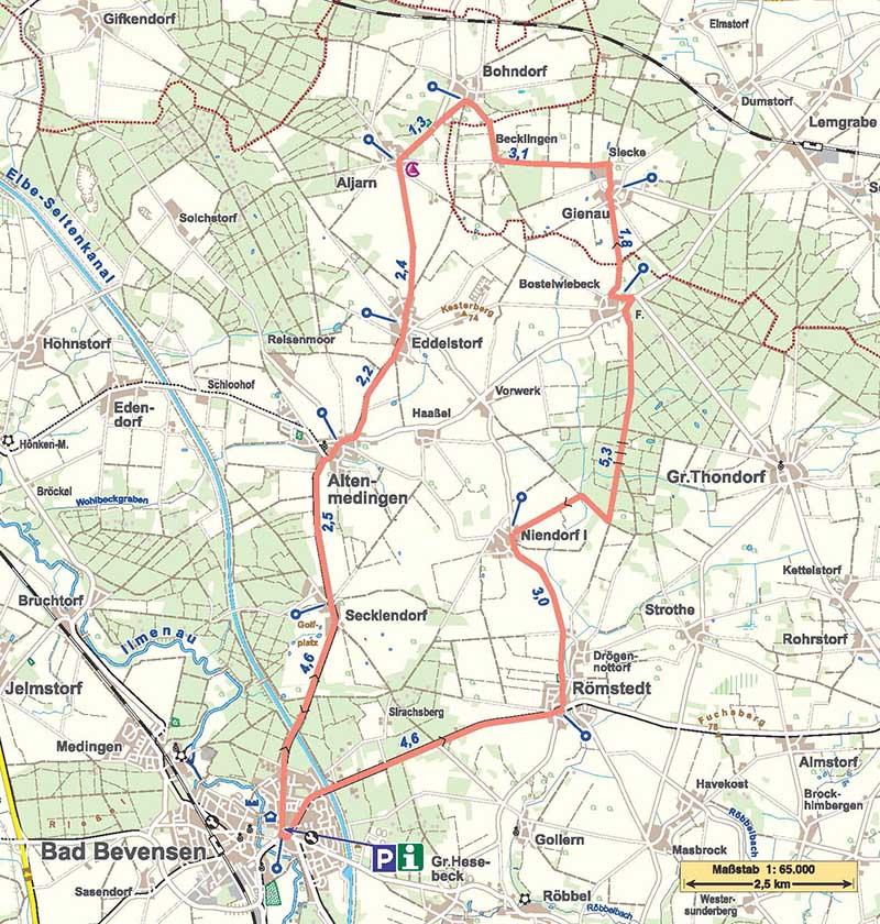 Radtour Kleine Landpartie