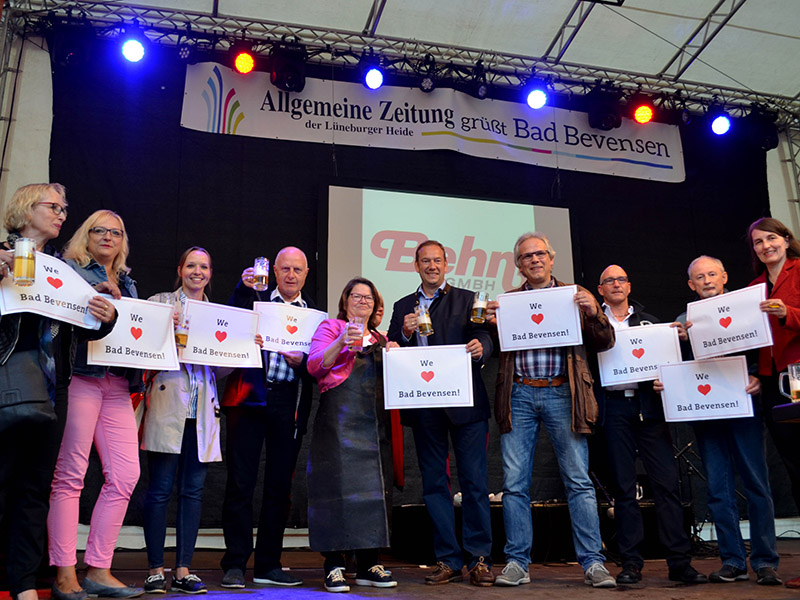 We love Bad Bevensen beim Stadtfest