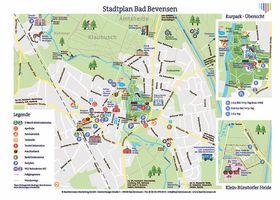 Stadtplan Bad Bevensen