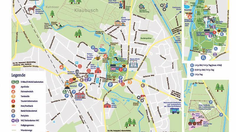 Karte Lüneburger Heide Und Umgebung.Anreise Karte Bad Bevensen Bad Bevensen Tourismus