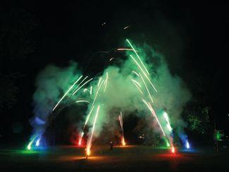 Feuerwerk zur Kurparknacht Bad Bevensen