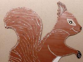 Hans-Hermann-Kunstaktion: das Eichhörnchen als Vermieter