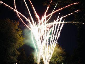 Kurparknacht Feuerwerk