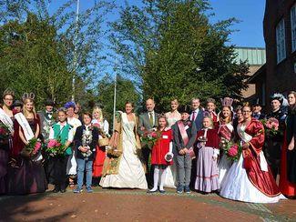 Gruppenbild der Majestäten zum Heidekartoffelfest Bad Bevensen