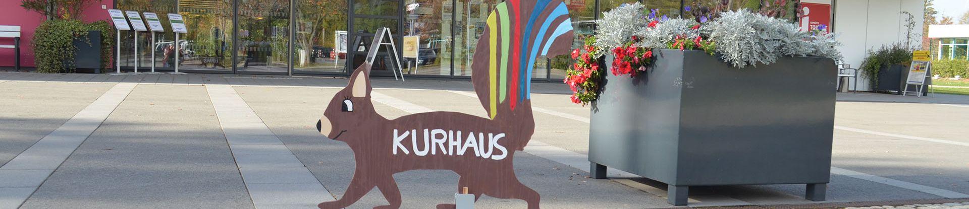 Kurhaus Hans-Hermann zur Kunstaktion