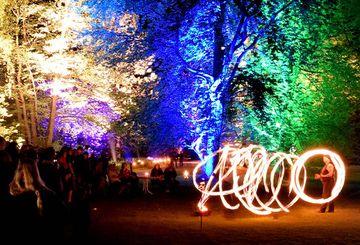 Feuershow zur Kurparknacht Bad Bevensen