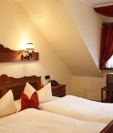 Doppelzimmer im Landhaus Zur Aue