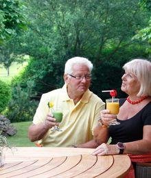 Paar im Landhaus Zur Aue