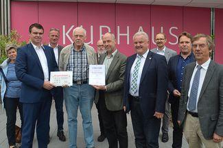 Kurhaus Bad Bevensen erhält Plakette für Barrierefreiheit