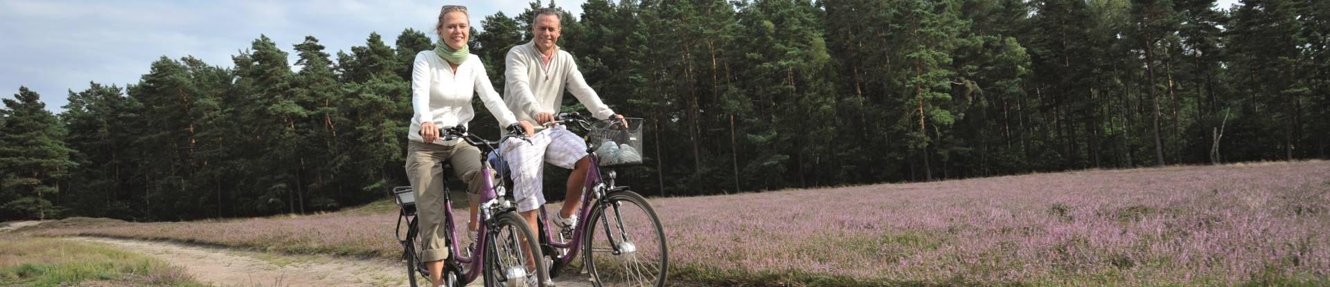 Radfahrer Klein-Buenstorfer Heide