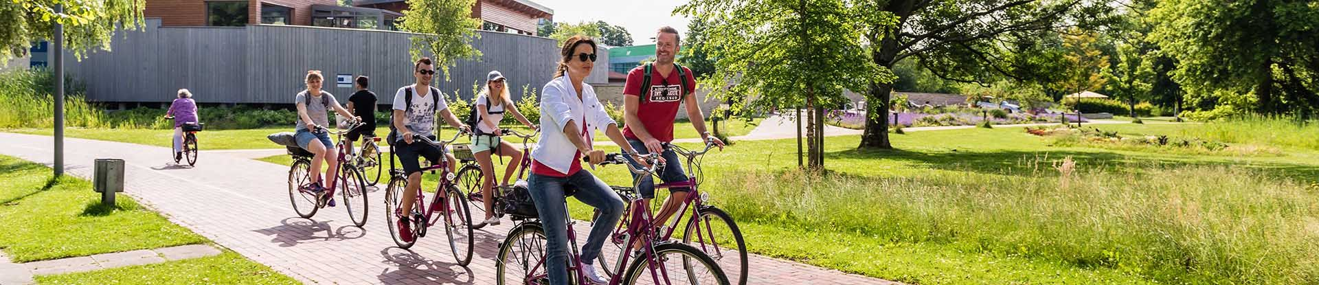 Radfahrer in Bad Bevensen