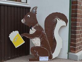 Hans-Hermann-Kunstaktion: das Eichhörnchen als ANNO Hörnchen
