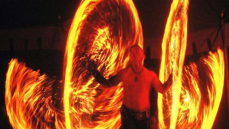 Feuershow Flamme e fabulee