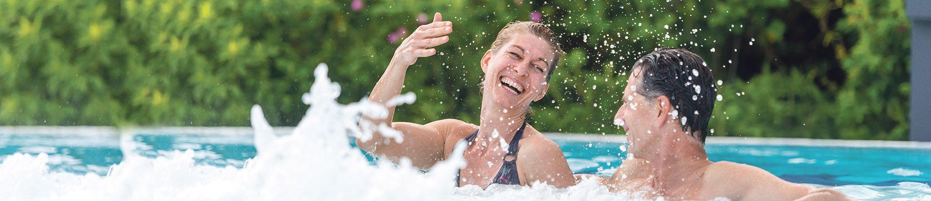 Badegäste in der Jod-Sole-Therme Bad Bevensen