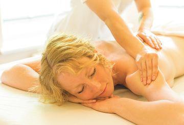 Entspannung bei einer Massage