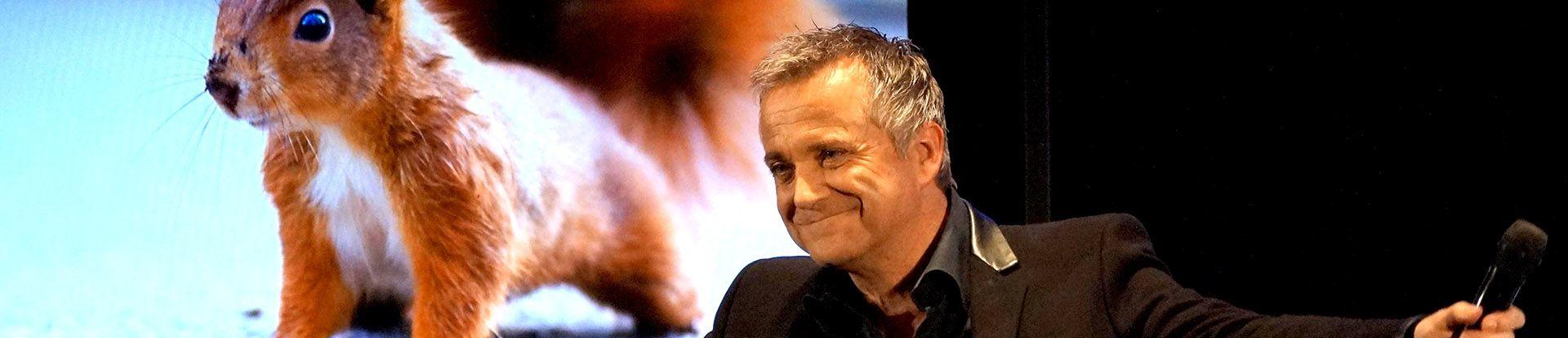 Der Comedian und Entertainer bei seiner Show in Bad Bevensen