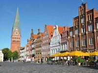 Am Sande in der Lüneburger Innenstadt