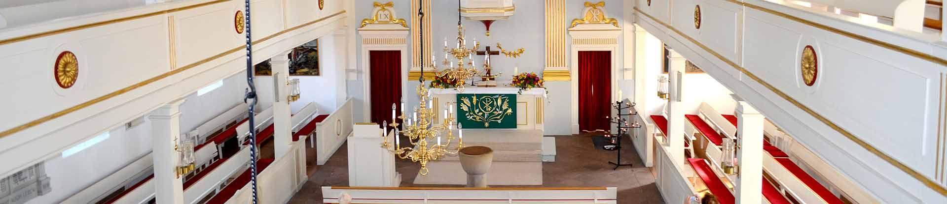 Innenaufnahme der Dreikönigskirche zu Bad Bevensen
