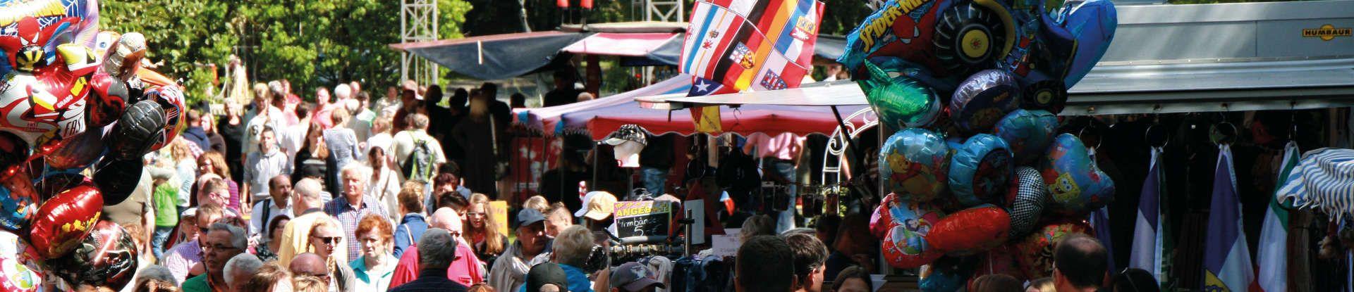 Stadtfest in der Innenstadt