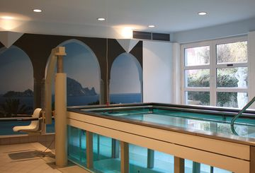 Schwimmbad in der Residenz Dahlke