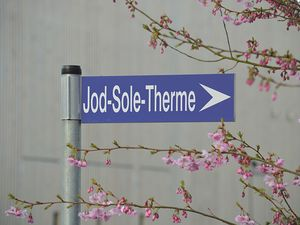 Wegweiser Jod-Sole-Therme