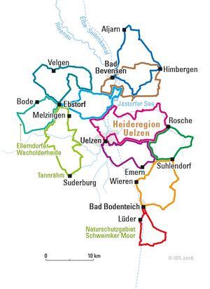 Radreiseregion Uelzen (c)ADFC Deutschland per Rad