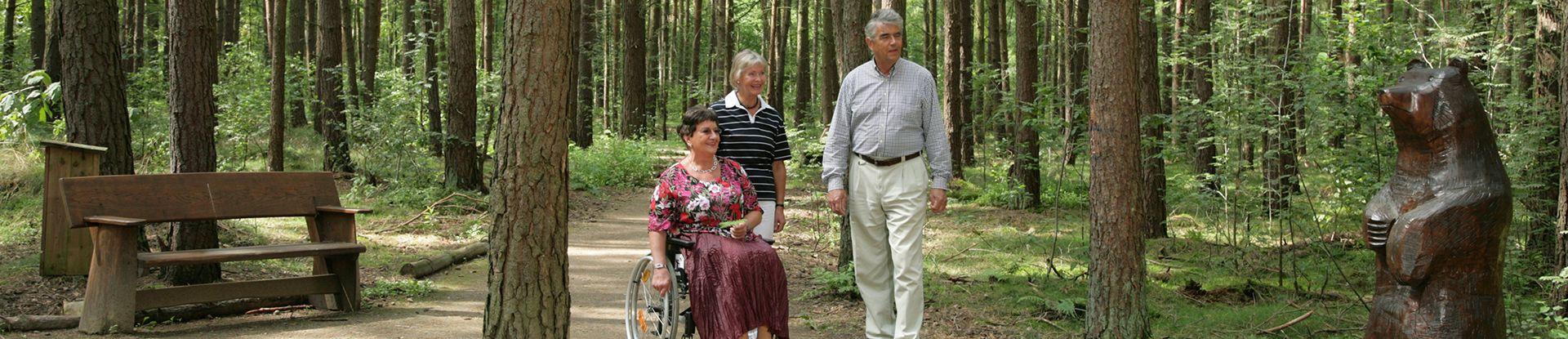 Rollstuhlwanderweg der Fürst Donnersmarck-Stiftung in Bad Bevensen