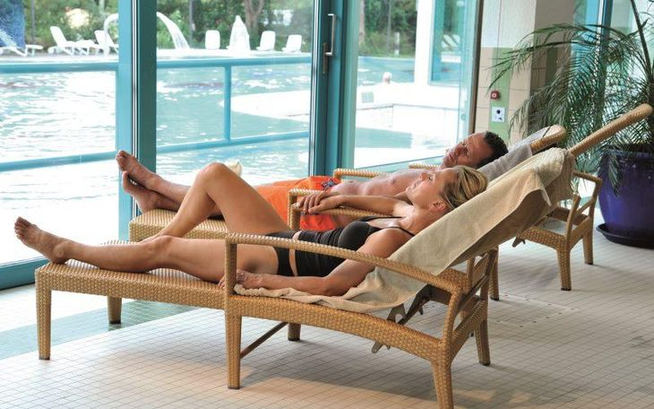 Jod-Sole-Therme Ruheraum