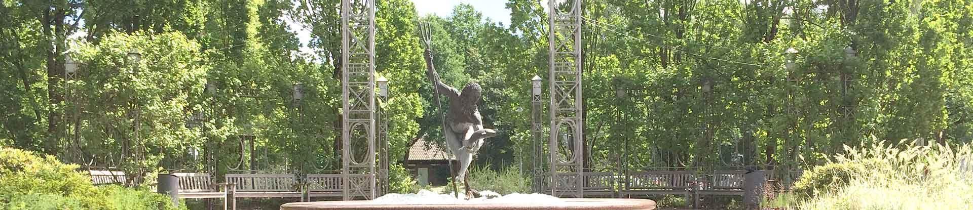 Neptunbrunnen im Kurpark Bad Bevensen