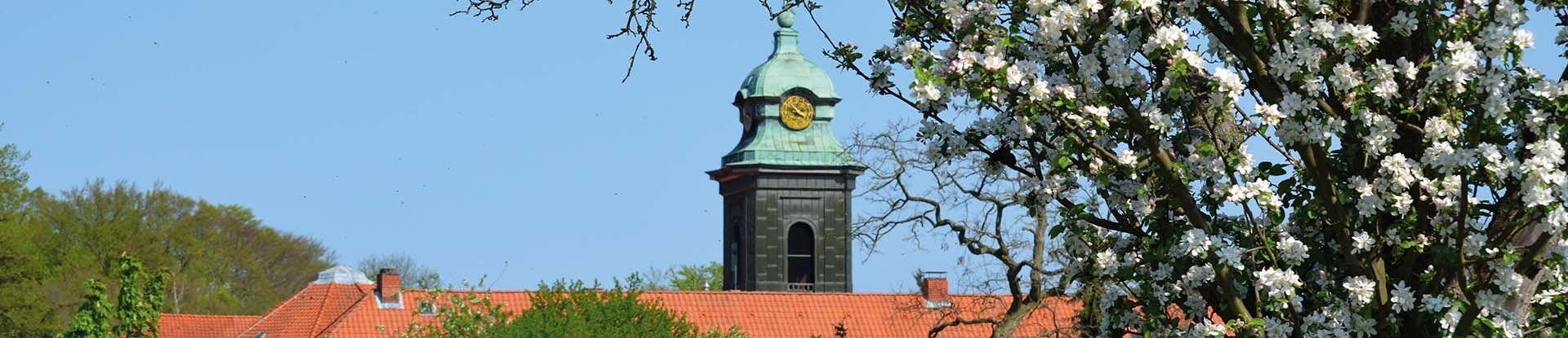 Kirchturm von Kloster Medingen