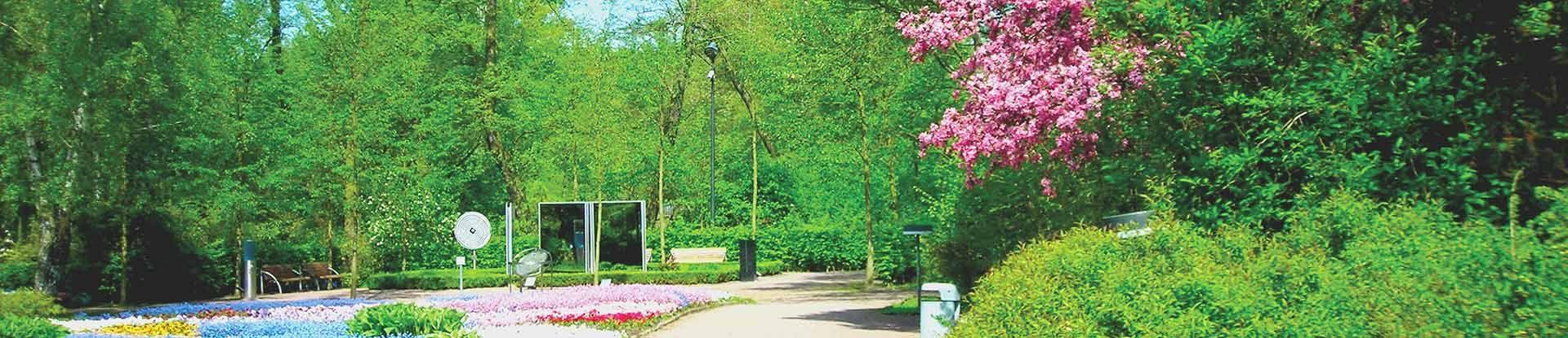 Kurpark Bad Bevensen: Garten der Sinne