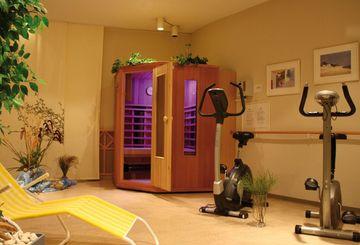Fitnessbereich in der Residenz Dahlke