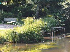 Wassertretanlage im Kurpark