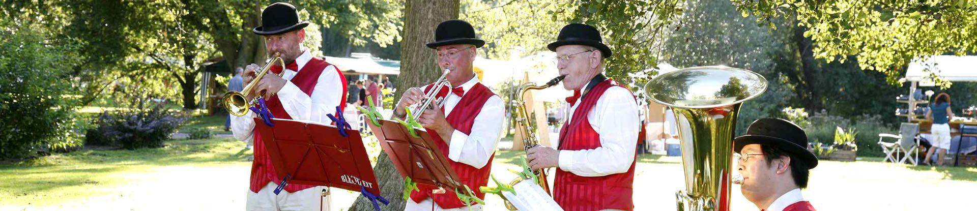 Konzert im Kurpark von Bad Bevensen