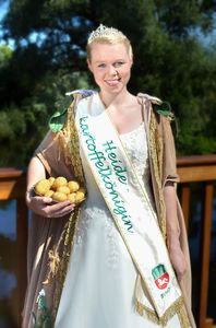 Heidekartoffelkönigin Luisa